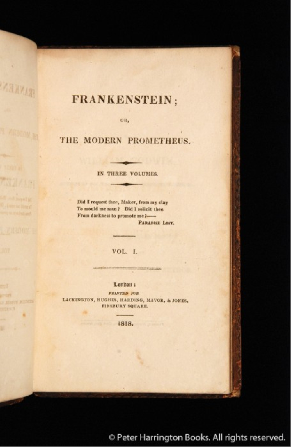 difference between frankenstein 1818 and 1831 2018-10-10 the novel of frankenstein portrays the creature as a sympathetic, tragic figure who desires only the affection of his creator, dr victor frankenstein, while the film version, which stars boris karloff as the creature, suggests that the creature is monstrous, violent and evil.